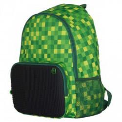 Pixie iskolás hátizsák, iskolatáska - zöld-fekete 46973 - PIXIE iskolatáskák - PIXIE iskolatáskák Pixie