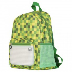 Pixie sötétben világító iskolás hátizsák, iskolatáska - zöld - PIXIE iskolatáskák - PIXIE iskolatáskák Pixie