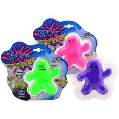 Slime ember figura - 10 cm, többféle színben - SLIME játékok