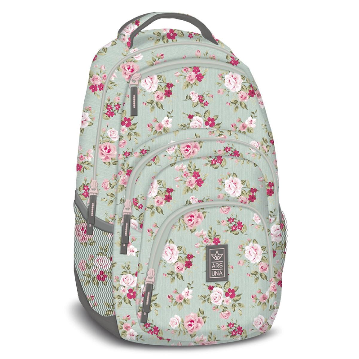 389728d14a14 Vintage Rose hátizsák, iskolatáska AU-2 Táska, sulis felszerelés ...