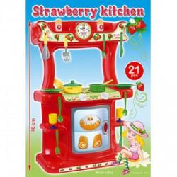 Műanyag játék - Epres konyha - 76 cm - Konyhák - Kerti és vízes játékok
