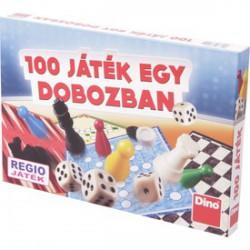 100 játék egy dobozban társasjáték gyűjtemény - Társasjátékok - Társasjátékok DINO