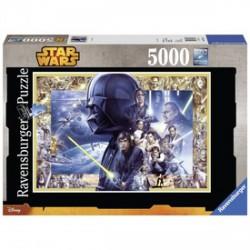 Ravensburger Star Wars főszereplők 5000 darabos puzzle - RAVENSBURGER játékok - Kirakók, puzzle-ok Star Wars