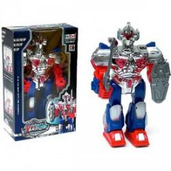 Robot Warrior elemes robotfigura - 31 cm - Transformer/átalakuló robot játékok - Transformer/átalakuló robot játékok