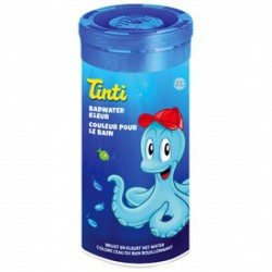 Tinti fürdővíz színező tabletta 10 darabos - kék - TINTI fürdőjáték - Bébijátékok TINTI