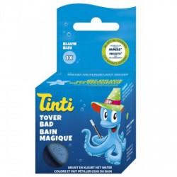 Tinti mágikus fürdővíz - kék - TINTI fürdőjáték - Bébijátékok TINTI