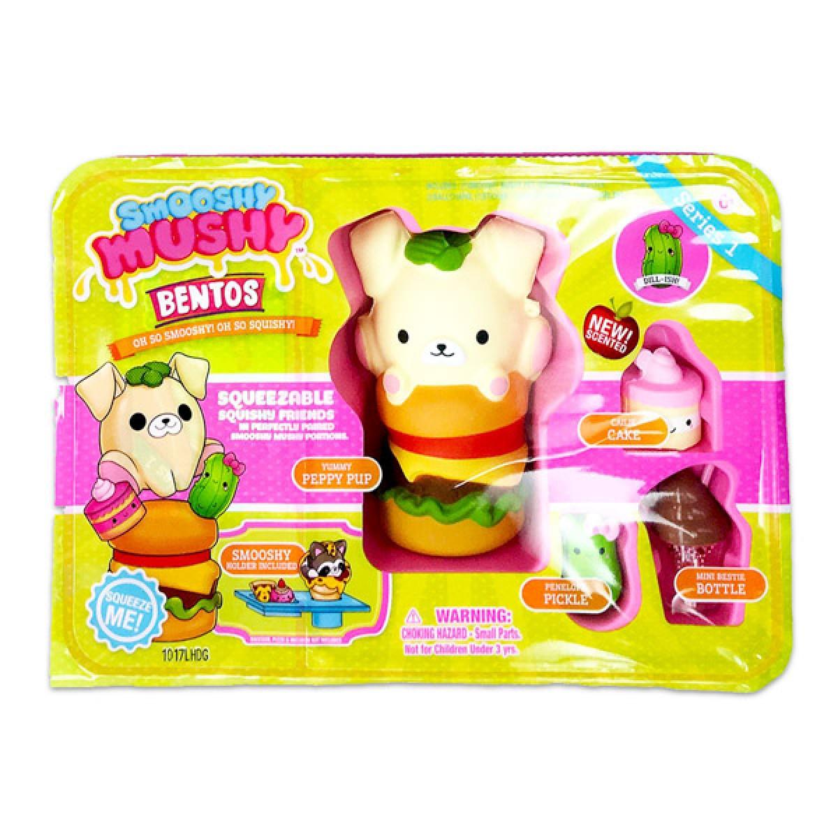 1c5f927d08b9 Smooshy Mushy Bento kiskutya a hamburgerével figurakészlet Smooshy Mushy  játékok