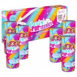 Party popteenies 6 darabos meglepetés Popper Party PopTeenies játékok - Lányos játékok Party popteenies