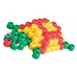 Paulinda Super Beads 3D teknős 100 darabos szett - PAULINDA Super beads gyöngyök - Lányos játékok Paulinda