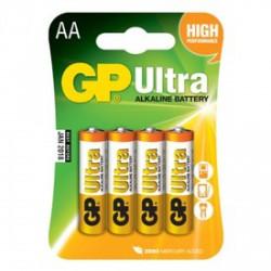 GP Ultra AA ceruzaelem 4 darabos készlet - ELEMEK - ELEMEK GP