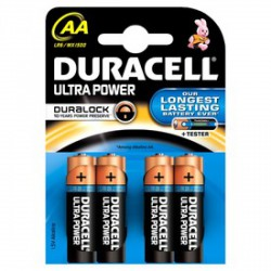 Duracell Ultra AA ceruzaelem 4 darabos készlet - ELEMEK - ELEMEK Duracell