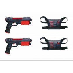 Lézerpisztoly mellénnyel 2 darabos készlet - Játék fegyverek - Játék fegyverek