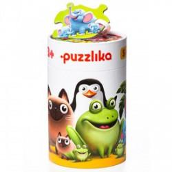 Cubika Állatok és kölykeik 5 az 1-ben XXL puzzle - CUBIKA bébijátékok - Bébijátékok CUBIKA