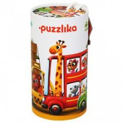 Cubika Autók 20 darabos XXL puzzle - CUBIKA bébijátékok - Bébijátékok CUBIKA