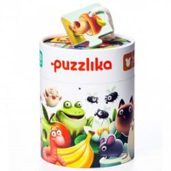 Cubika Ételek 20 darabos XXL puzzle - CUBIKA bébijátékok - Bébijátékok CUBIKA