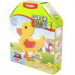 Paulinda Super Beads 3D madár gyöngykészlet 200 darabos szett - PAULINDA Super beads gyöngyök - Lányos játékok Paulinda