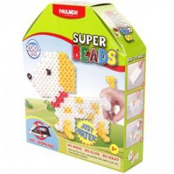 Paulinda Super Beads 3D állat gyöngykészlet 200 darabos szett - PAULINDA Super beads gyöngyök - Lányos játékok Paulinda
