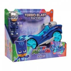 Pizsihősök turbó autó figurával Macska ( CAT-CAR ) - 20 cm - PIZSIHŐSÖK figurák és játékok - PIZSIHŐSÖK figurák és játékok Pizsihősök