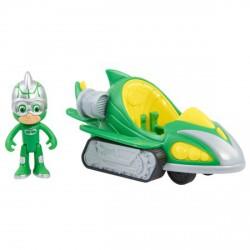 Pizsihősök turbó autó figurával Gekkó ( Gekko-Mobile ) - 20 cm - PIZSIHŐSÖK figurák és játékok - PIZSIHŐSÖK figurák és játékok Pizsihősök