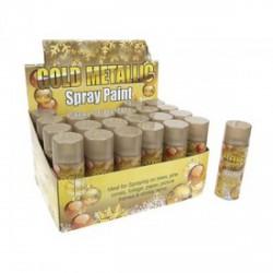 Műhó spray - aranyszínű, 250 ml -Ünnepi meglepik -Ünnepi meglepik