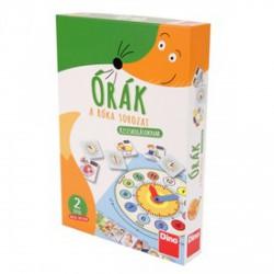 Órák oktató játék - róka sorozat - Társasjátékok - Társasjátékok DINO