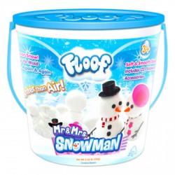 Floof! Hópehely gyurma hóember készlet - 120g - FLOOF! Hópehely gyurma - FLOOF! Hópehely gyurma Floof! Hópehely gyurma