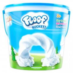 Floof! Hópehely gyurma vödrös készlet - 240g - FLOOF! Hópehely gyurma - FLOOF! Hópehely gyurma Floof! Hópehely gyurma