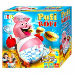 Pufi Röfi társasjáték új kiadás - Társasjátékok - Társasjátékok