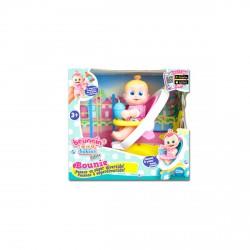 Bouncing Babies babakocsis móka cumizó, pisilő babával - Bouncing Babies játékok - Bouncing Babies játékok Bouncing Babies babák
