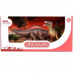 Dinoszaurusz 2 darabos készlet - 10 és 20 cm - Dínós játékok - Dínós játékok