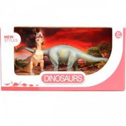 Dinoszaurusz 2 darabos készlet - 12 és 21 cm - Dínós játékok - Dínós játékok