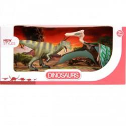 Dinoszaurusz 2 darabos készlet - 14 és 17 cm - Dínós játékok - Dínós játékok