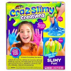 Cra-z-Art Cra-Z-Slimy csillámos neon zselé gyár készlet - SLIME játékok - SLIME játékok Cra-Z-Art
