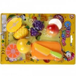 Vágható gyümölcs műanyag készlet - Bébijátékok - Bébijátékok