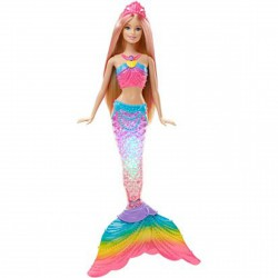 Barbie Szivárvány sellő Barbie - Barbie babák - Barbie babák Barbie