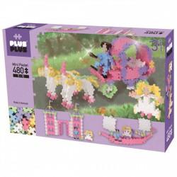 PlusPlus építőjáték - 3IN1 hercegnők 480 darabos - PlusPlus építőjátékok - Építőjátékok PlusPlus építőjáték