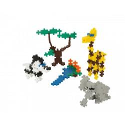 PlusPlus Mini Basic építőjáték - Szafari 170 darabos - PlusPlus építőjátékok - Építőjátékok PlusPlus építőjáték