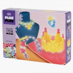 PlusPlus Mini Pastel építőjáték - karkötő készítő 170 darabos - PlusPlus építőjátékok - Építőjátékok PlusPlus építőjáték
