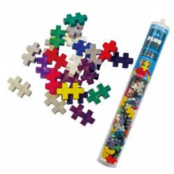 PlusPlus Basic Mix építőjáték - alapszínek cső, 100 darabos - PlusPlus építőjátékok - Építőjátékok PlusPlus építőjáték