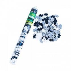 PlusPlus gray scale építőjáték - szürke árnyalatok cső, 100 darabos - PlusPlus építőjátékok - Építőjátékok PlusPlus építőjáték