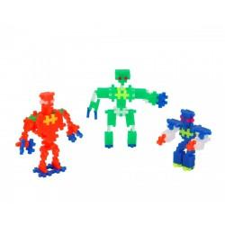 PlusPlus Mini Neon építőjáték - Robotok 170 darabos - PlusPlus építőjátékok - Építőjátékok PlusPlus építőjáték