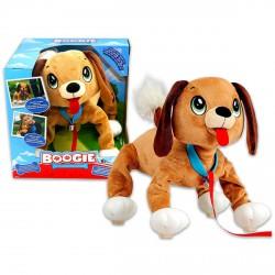 Boogie sétáló kutya plüssfigura - 27 cm - Plüss és állat,-mesefigurák - Plüss és állat,-mesefigurák