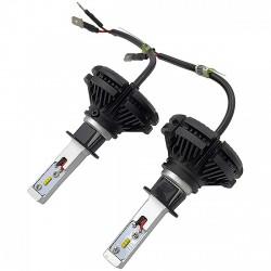 LUMILED H1 LED izzó pár - 6000lm - 12/24V - LED - LED
