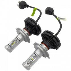 LUMILED H4 LED izzó pár - 6000lm - 12/24V - LED - LED