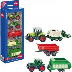 Siku 6286 mezőgazdasági munkagépek 5 darabos készlet - SIKU modellautók - Pályák, kisautók Siku