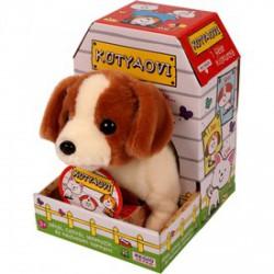 Sétáló Jack Russell terrier kutyus - 20 cm - Animagic játékok - Animagic játékok Animagic