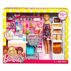 Barbie szupermarket babával készlet - Barbie babák - Barbie babák Barbie