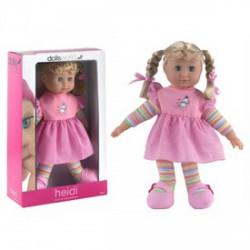 Heidi baba 41 cm puha testű, alvós szemű, fésülhető, 2 féle változatban - Dolls World babák - Dolls World babák Dolls World