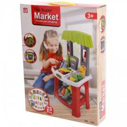 Bevásárló központ 23 darabos játékkészlet - Konyhák - Konyhák