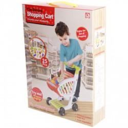 Bevásárlókocsi 25 darabos játékkészlet - Konyhák - Konyhák